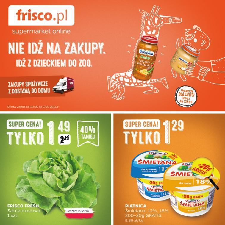 Gazetka promocyjna Frisco.pl do 05/06/2016 str.0
