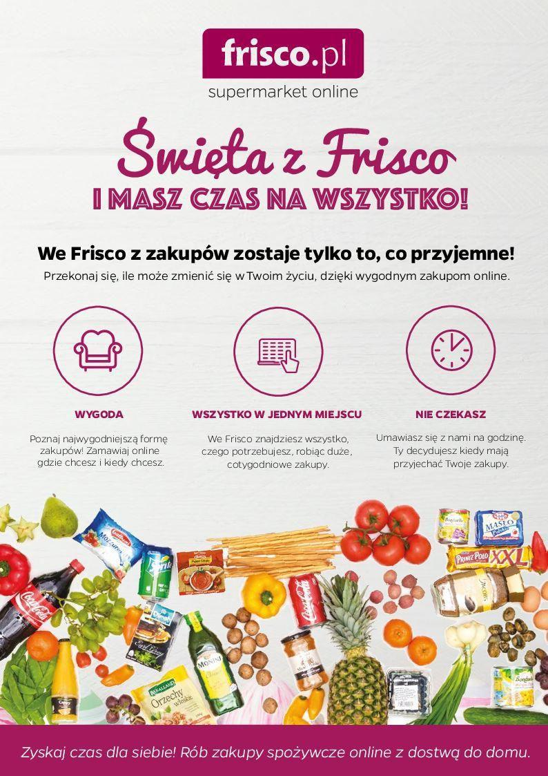 Gazetka promocyjna Frisco.pl do 27/03/2016 str.1