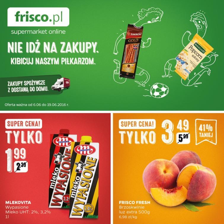 Gazetka promocyjna Frisco.pl do 19/06/2016 str.0