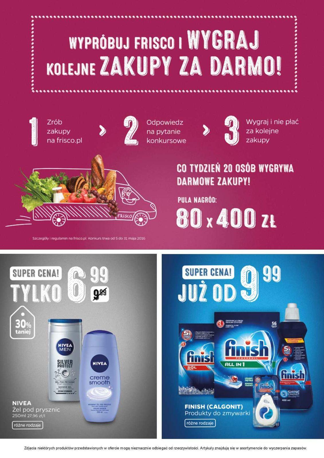 Gazetka promocyjna Frisco.pl do 22/05/2016 str.1