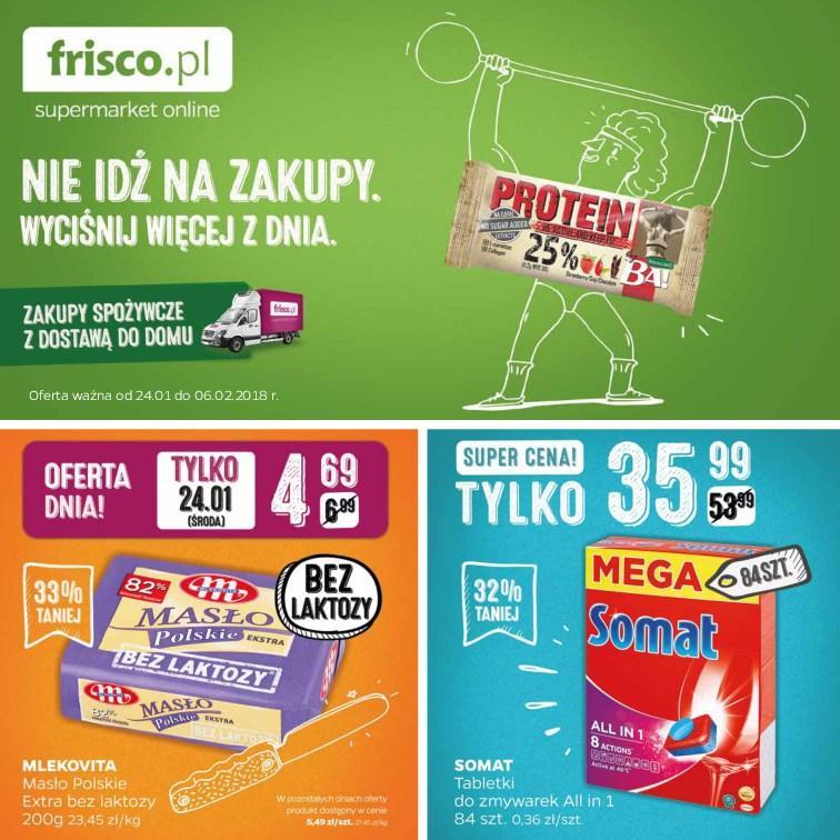 Gazetka promocyjna Frisco.pl do 06/02/2018 str.0