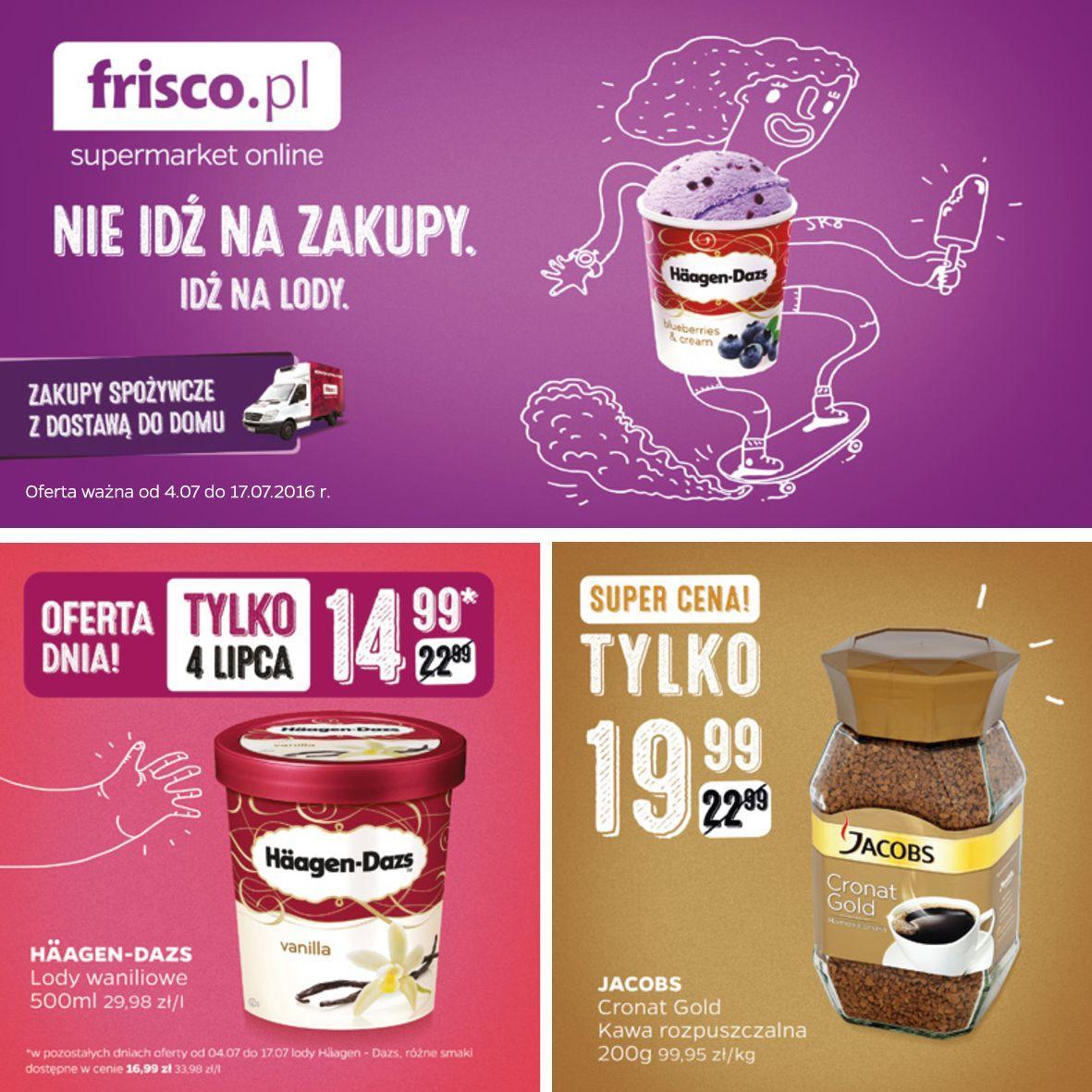 Gazetka promocyjna Frisco.pl do 17/07/2016 str.0