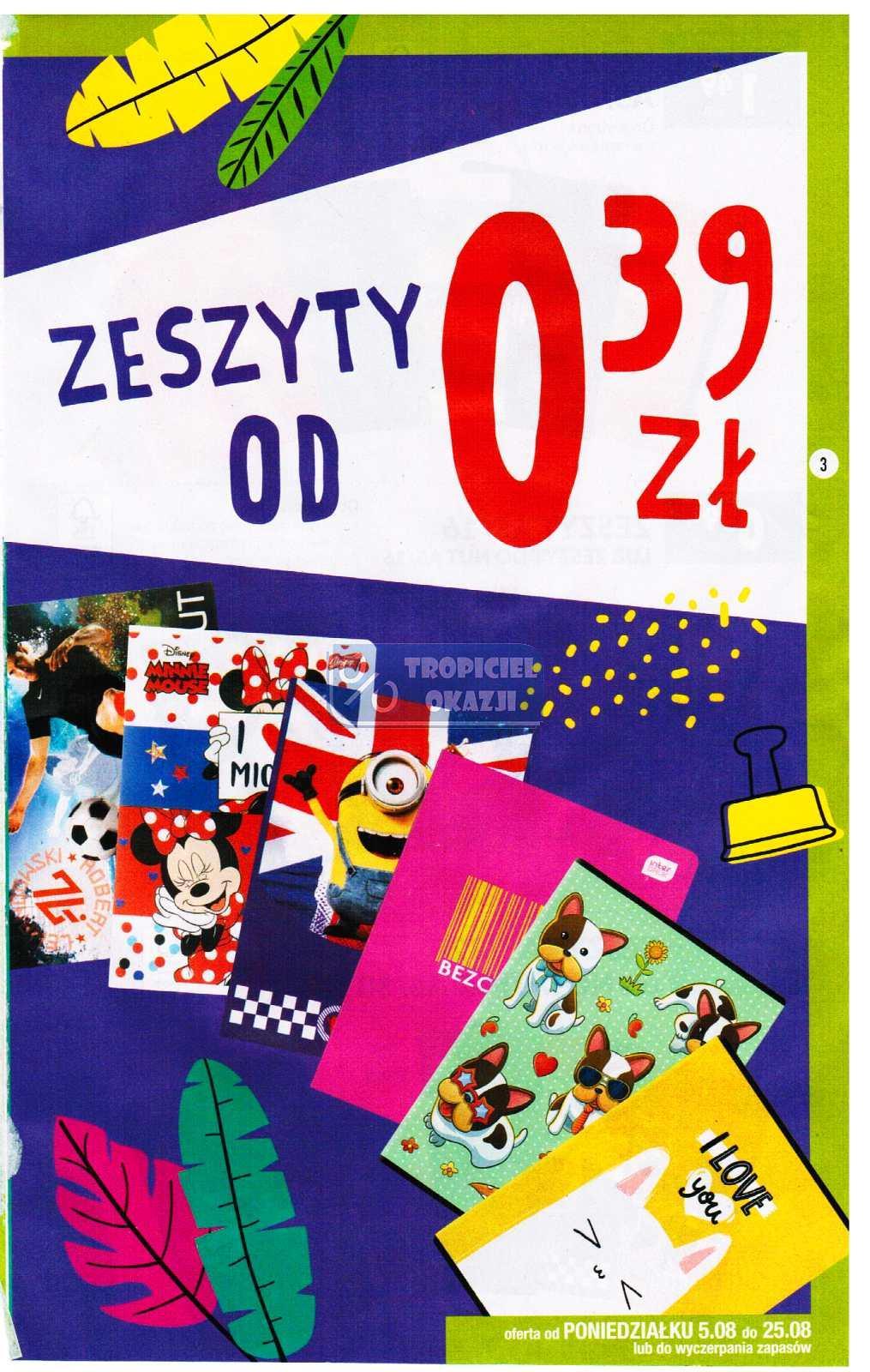 Gazetka promocyjna Biedronka do 25/08/2019 str.3