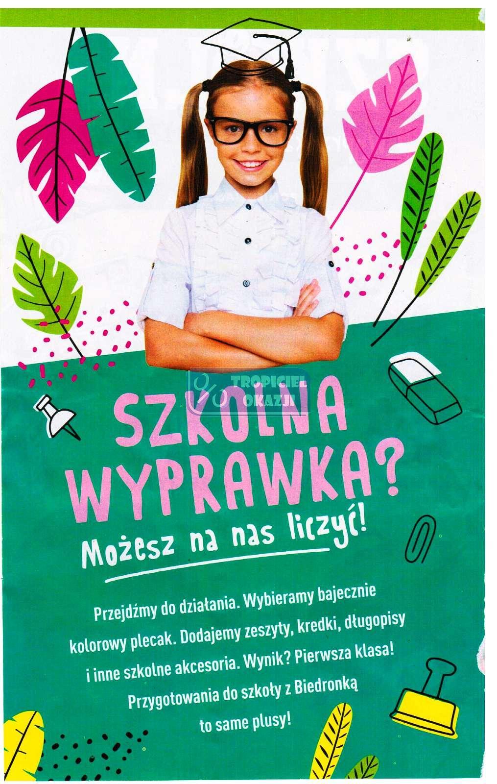 Gazetka promocyjna Biedronka do 25/08/2019 str.1