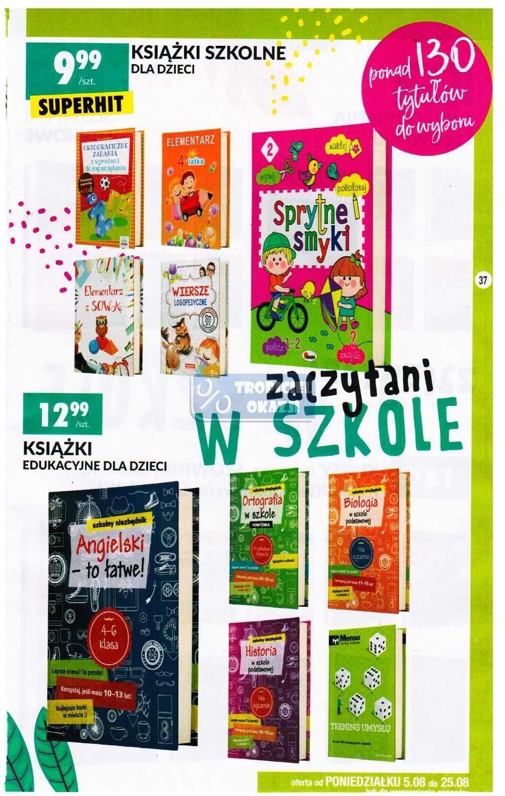 Gazetka promocyjna Biedronka do 25/08/2019 str.37