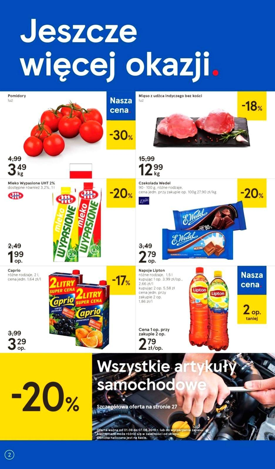 Gazetka promocyjna Tesco do 07/08/2019 str.1