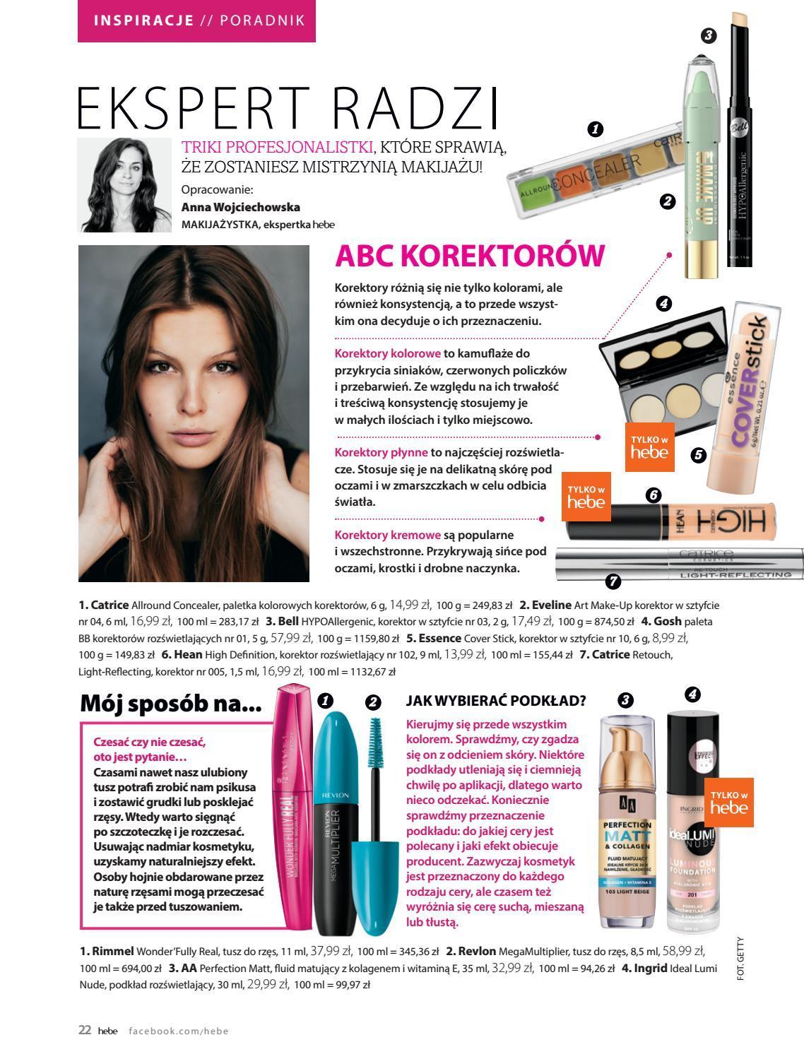 Gazetka promocyjna Hebe do 30/09/2018 str.22