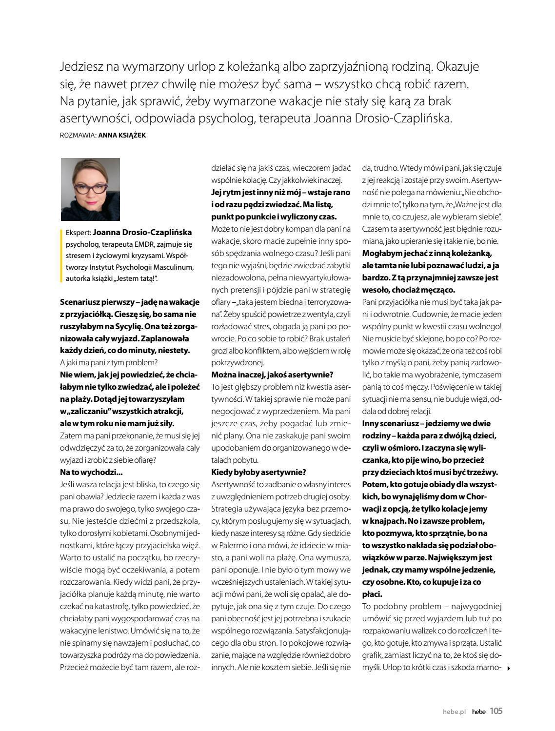 Gazetka promocyjna Hebe do 30/06/2018 str.105