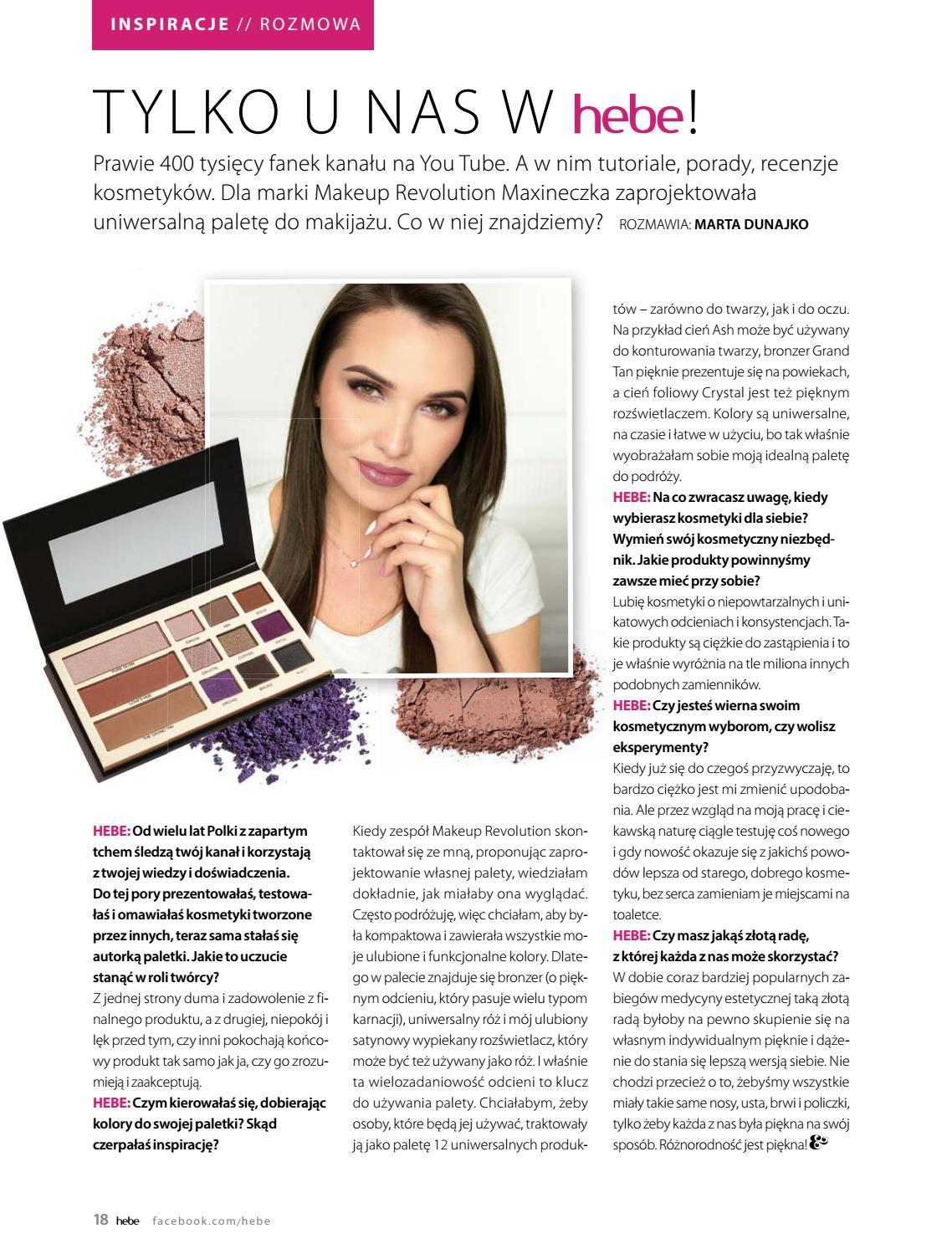 Gazetka promocyjna Hebe do 30/06/2018 str.18