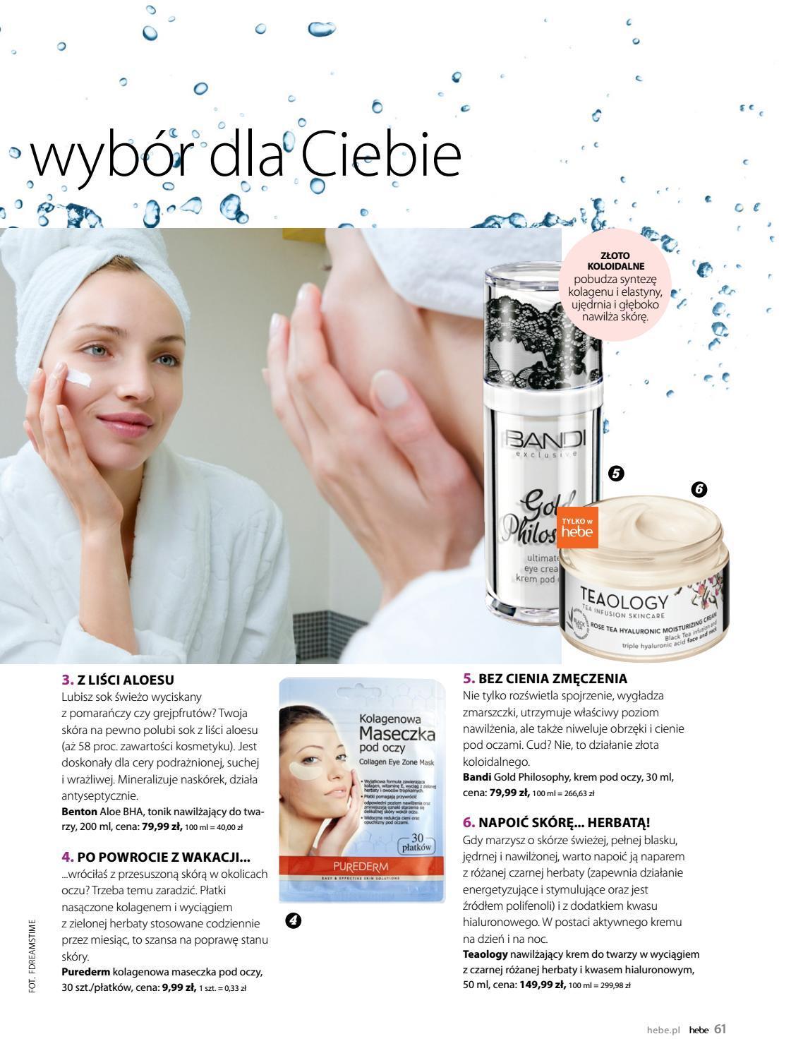 Gazetka promocyjna Hebe do 31/08/2018 str.60