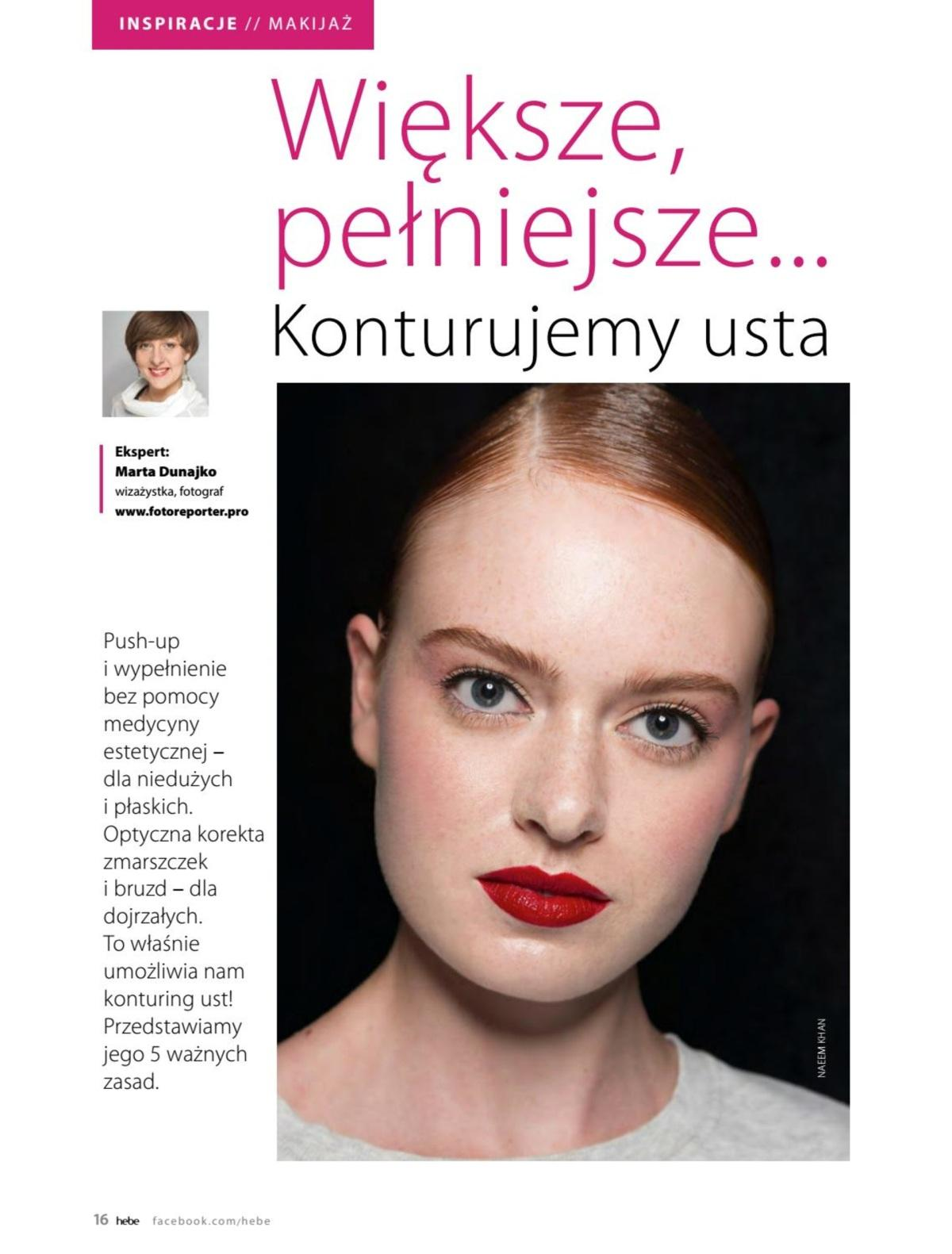 Gazetka promocyjna Hebe do 31/05/2019 str.15