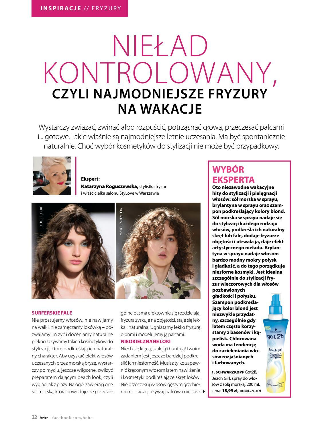 Gazetka promocyjna Hebe do 30/06/2018 str.32