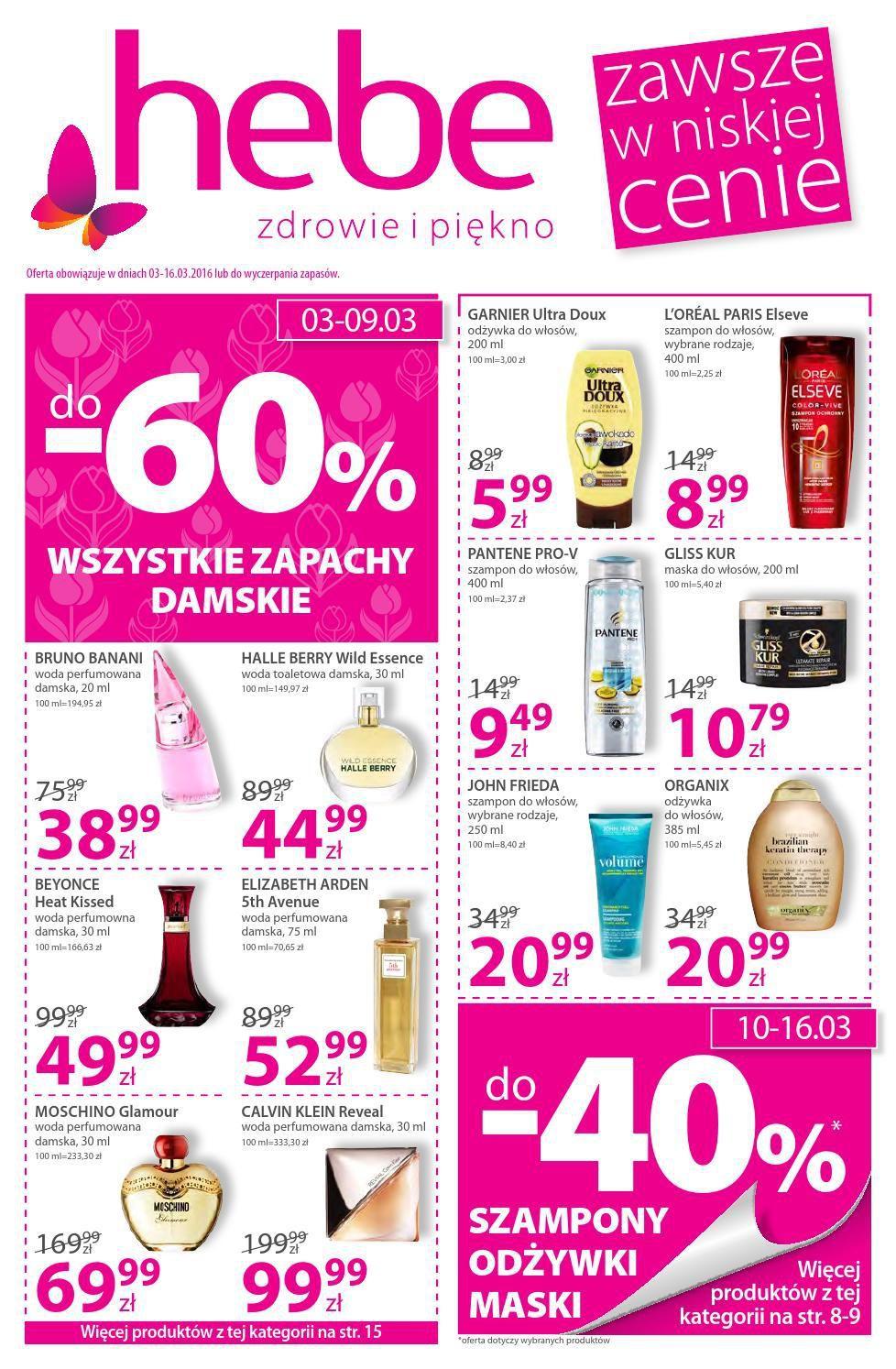 Gazetka promocyjna Hebe do 16/03/2016 str.0