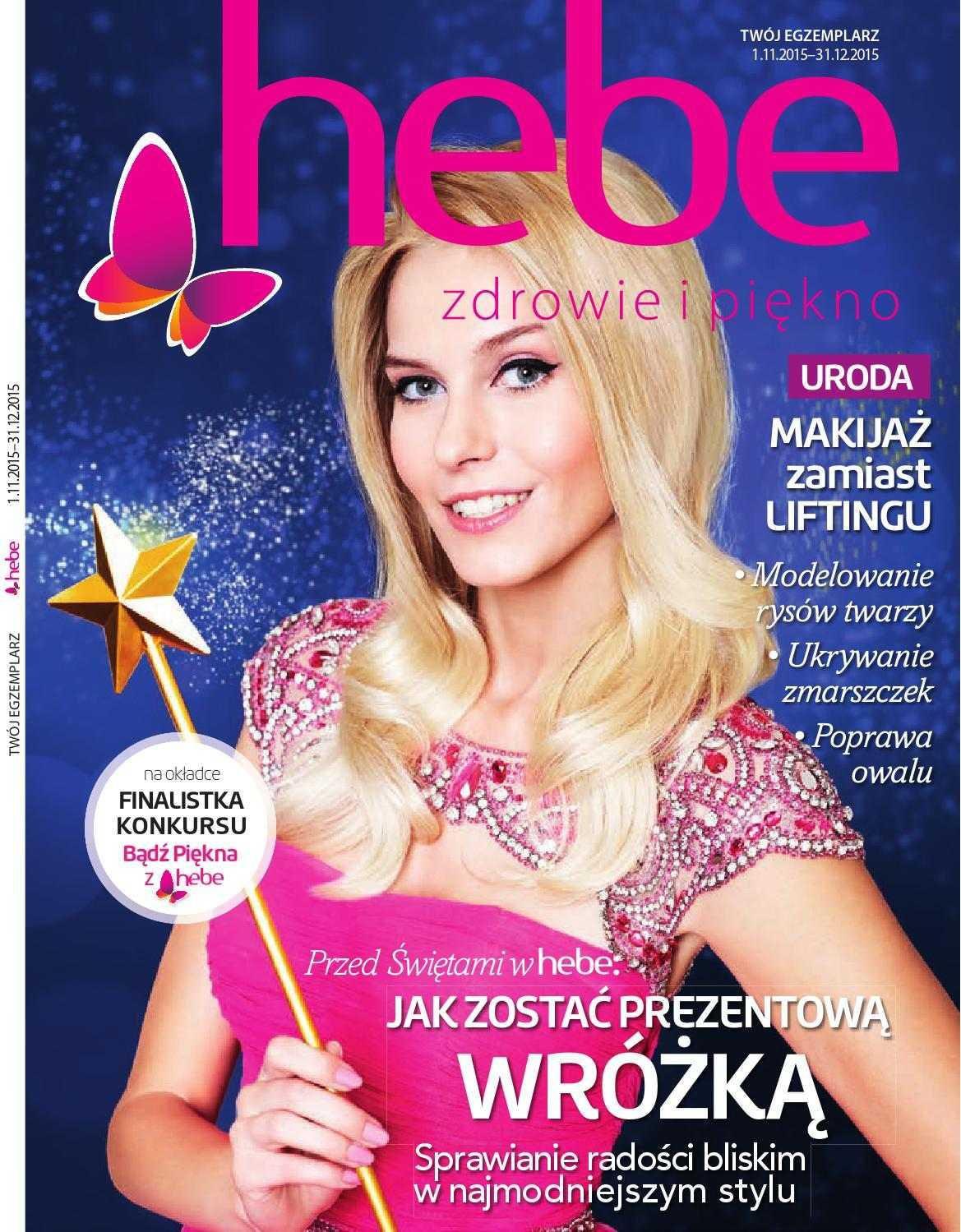 Gazetka promocyjna Hebe do 30/11/2015 str.0