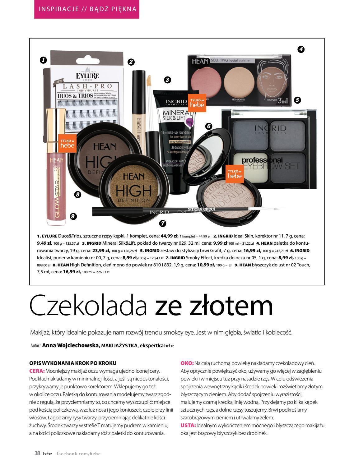 Gazetka promocyjna Hebe do 30/06/2019 str.38