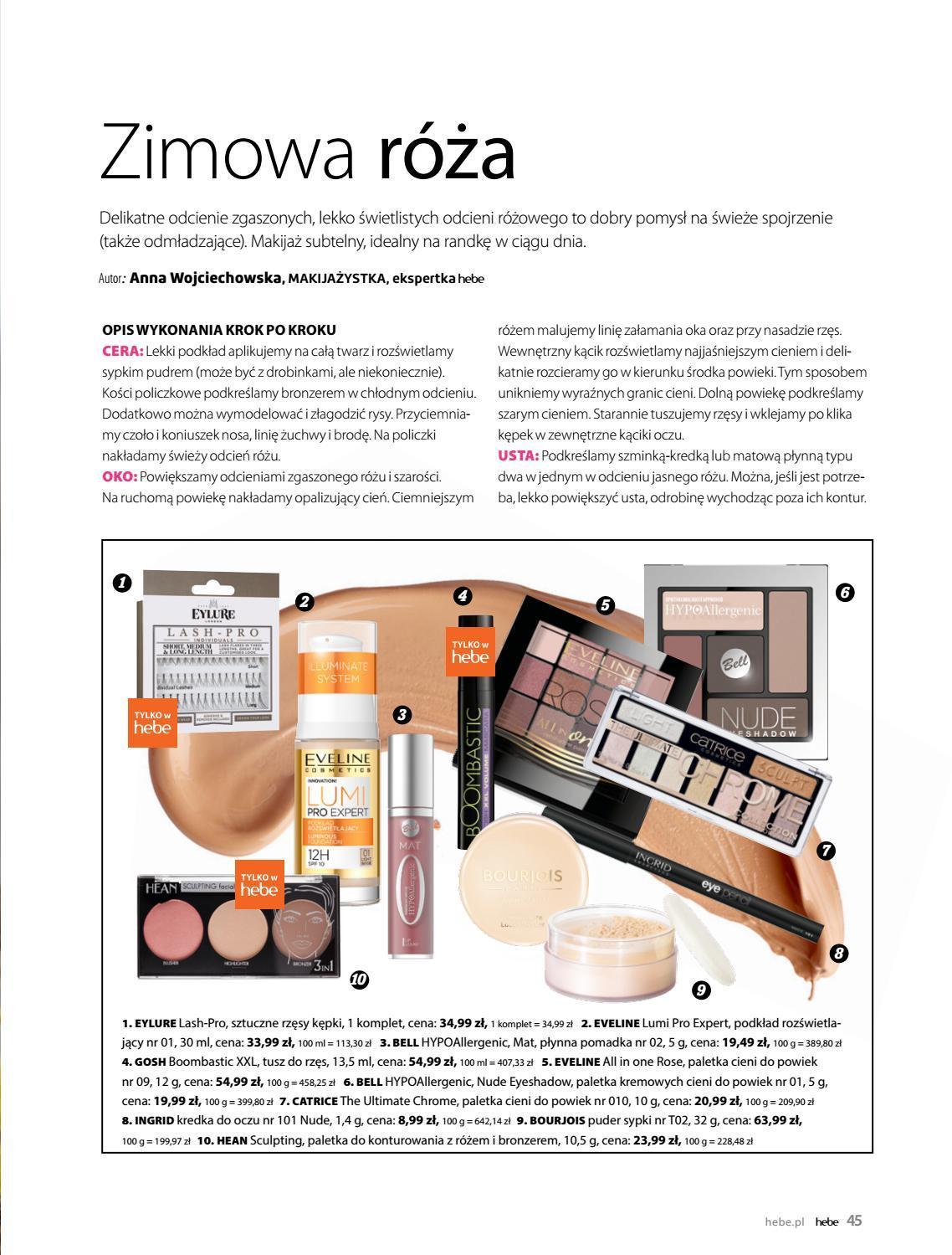 Gazetka promocyjna Hebe do 28/02/2019 str.44