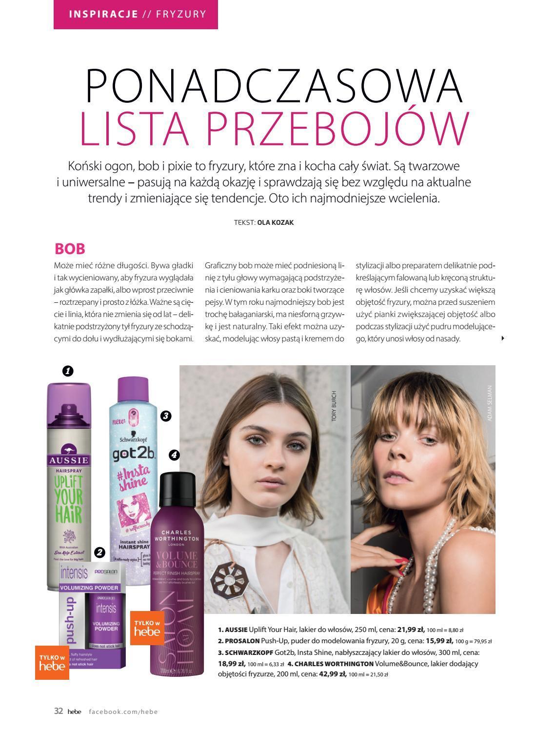 Gazetka promocyjna Hebe do 30/09/2018 str.32