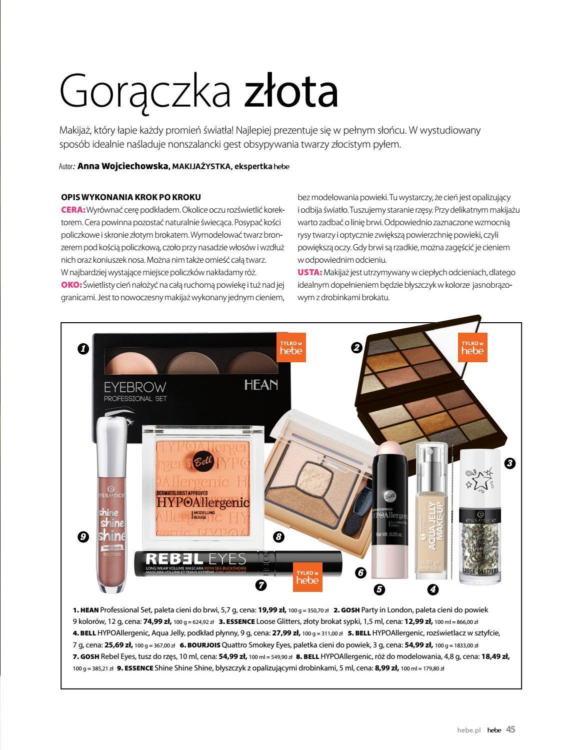 Gazetka promocyjna Hebe do 31/08/2018 str.44
