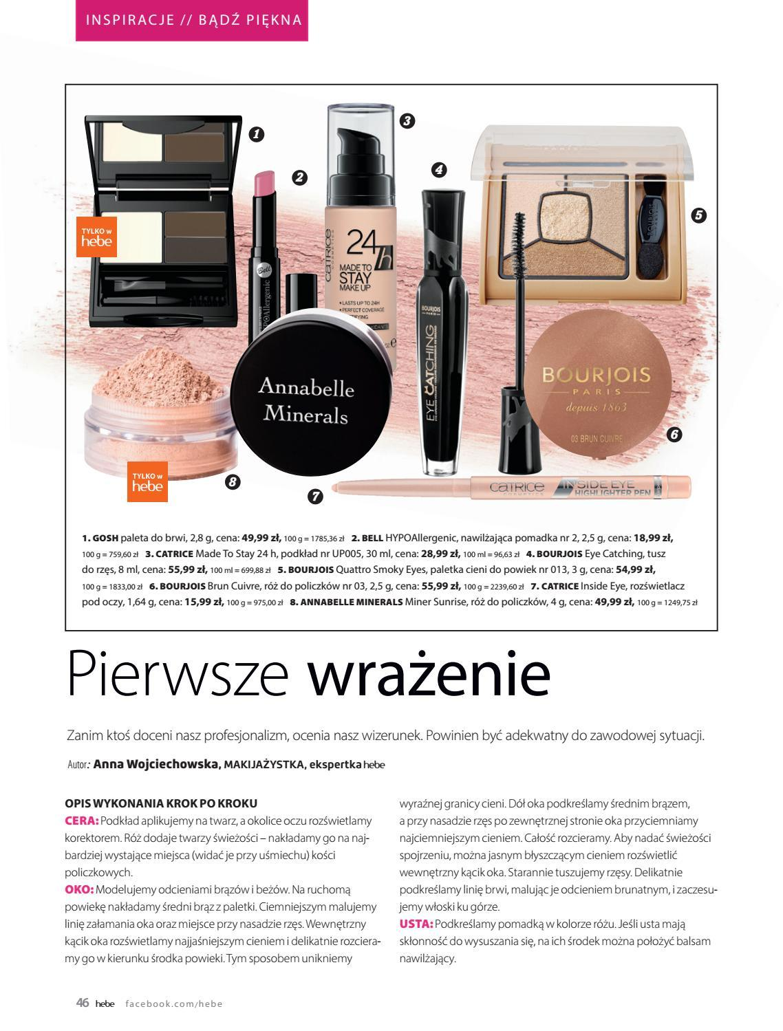 Gazetka promocyjna Hebe do 30/09/2018 str.46