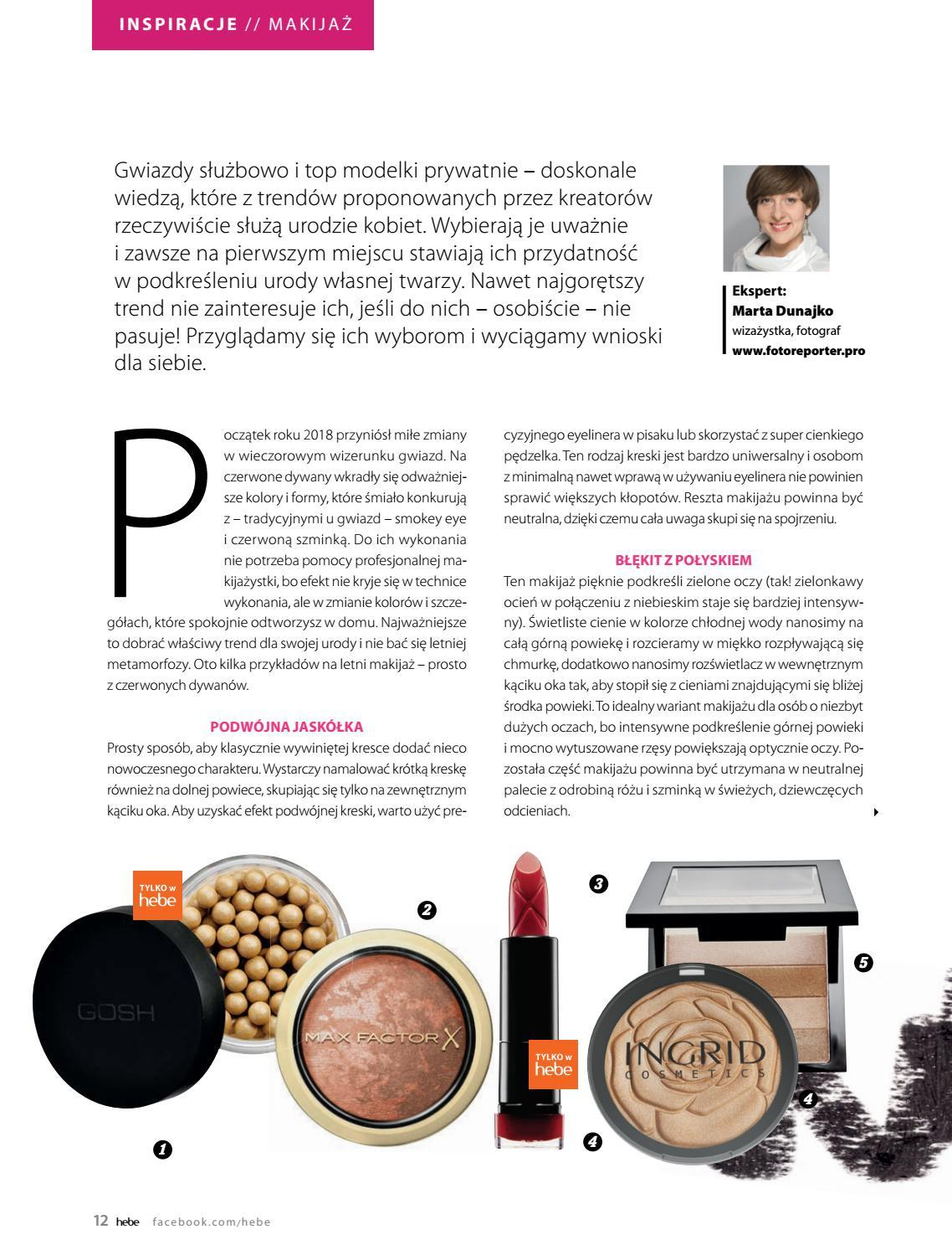 Gazetka promocyjna Hebe do 30/06/2018 str.12