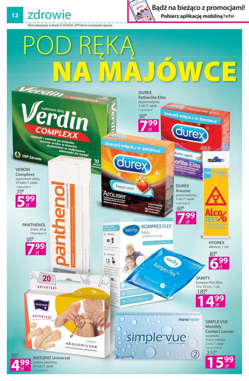 Gazetka promocyjna Hebe do 08/05/2019 str.11