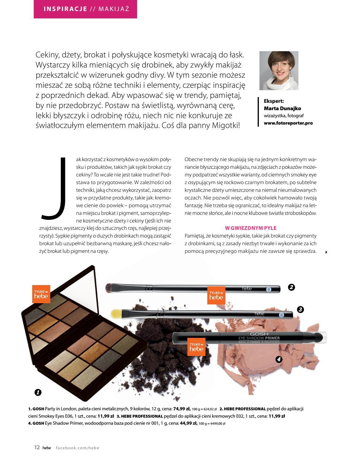 Gazetka promocyjna Hebe do 31/08/2018 str.11