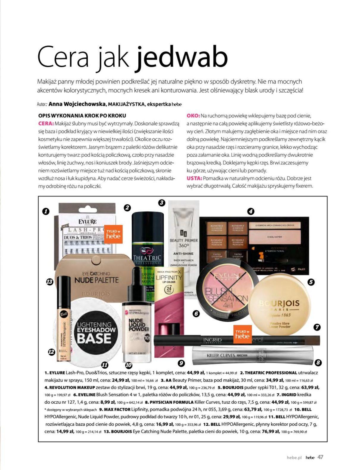 Gazetka promocyjna Hebe do 31/05/2019 str.46