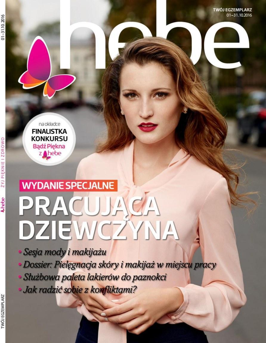 Gazetka promocyjna Hebe do 31/10/2016 str.0