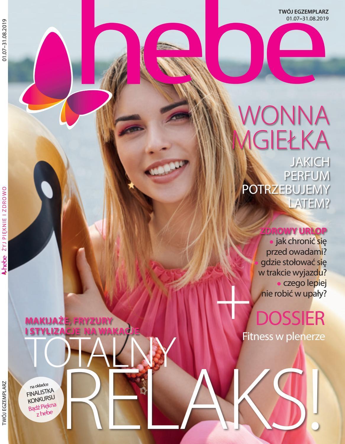 Gazetka promocyjna Hebe do 31/07/2019 str.0