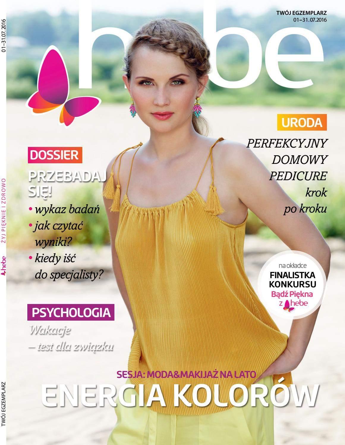 Gazetka promocyjna Hebe do 31/07/2016 str.0