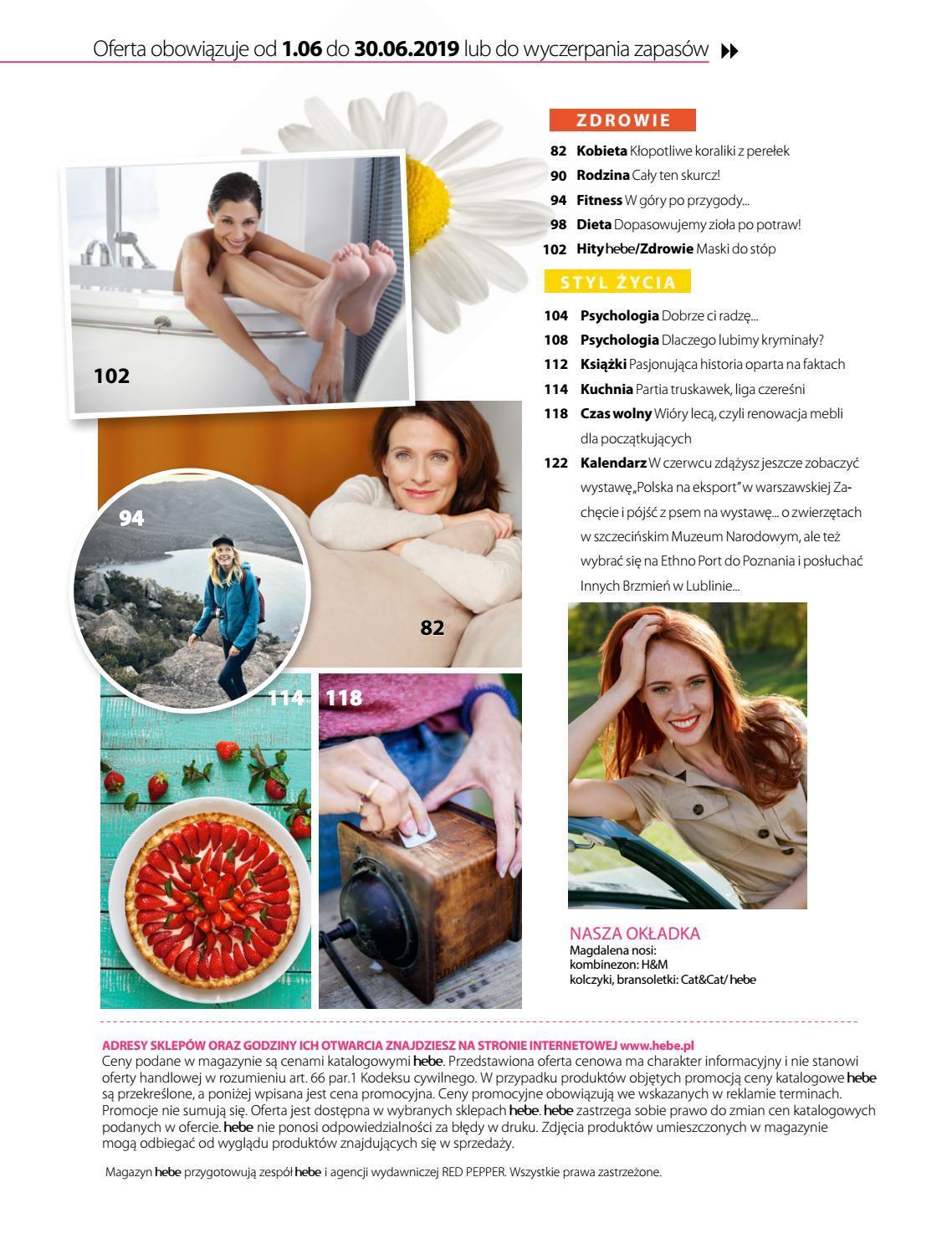 Gazetka promocyjna Hebe do 30/06/2019 str.5
