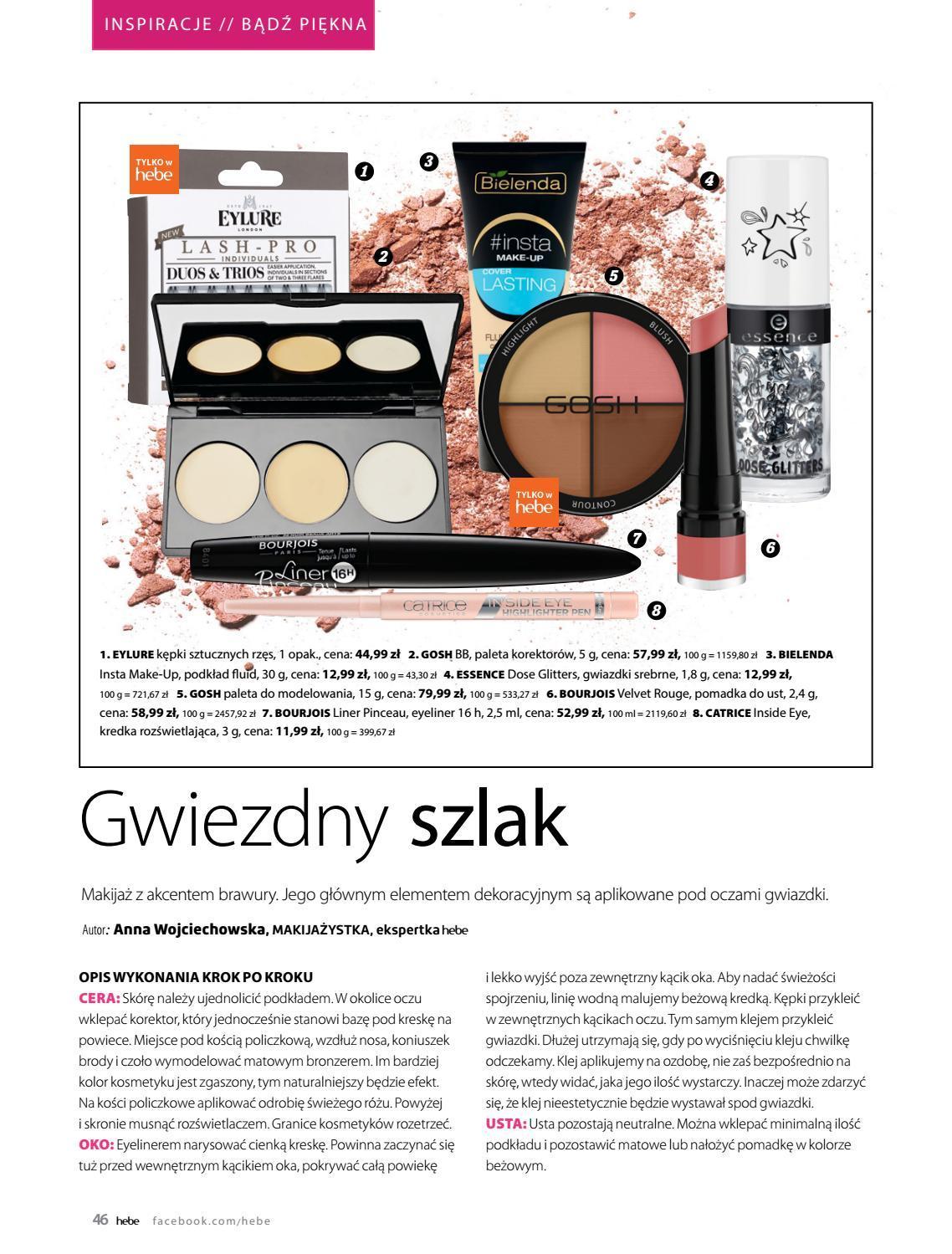 Gazetka promocyjna Hebe do 31/08/2018 str.45