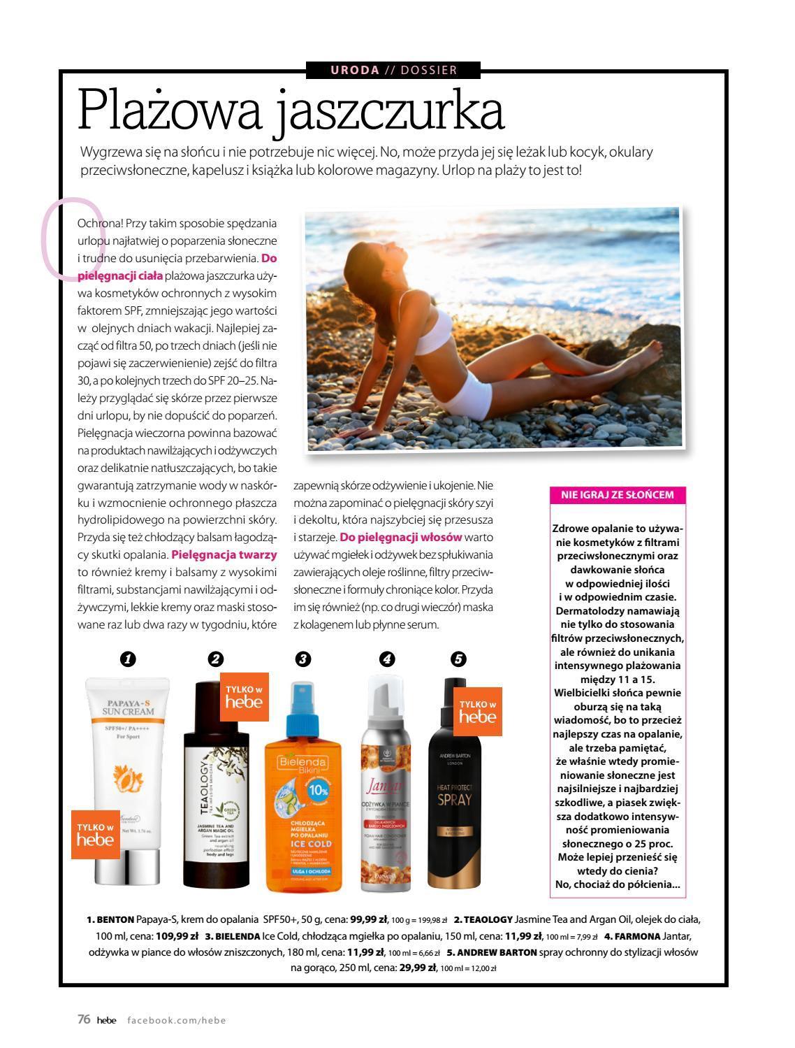 Gazetka promocyjna Hebe do 31/08/2018 str.76
