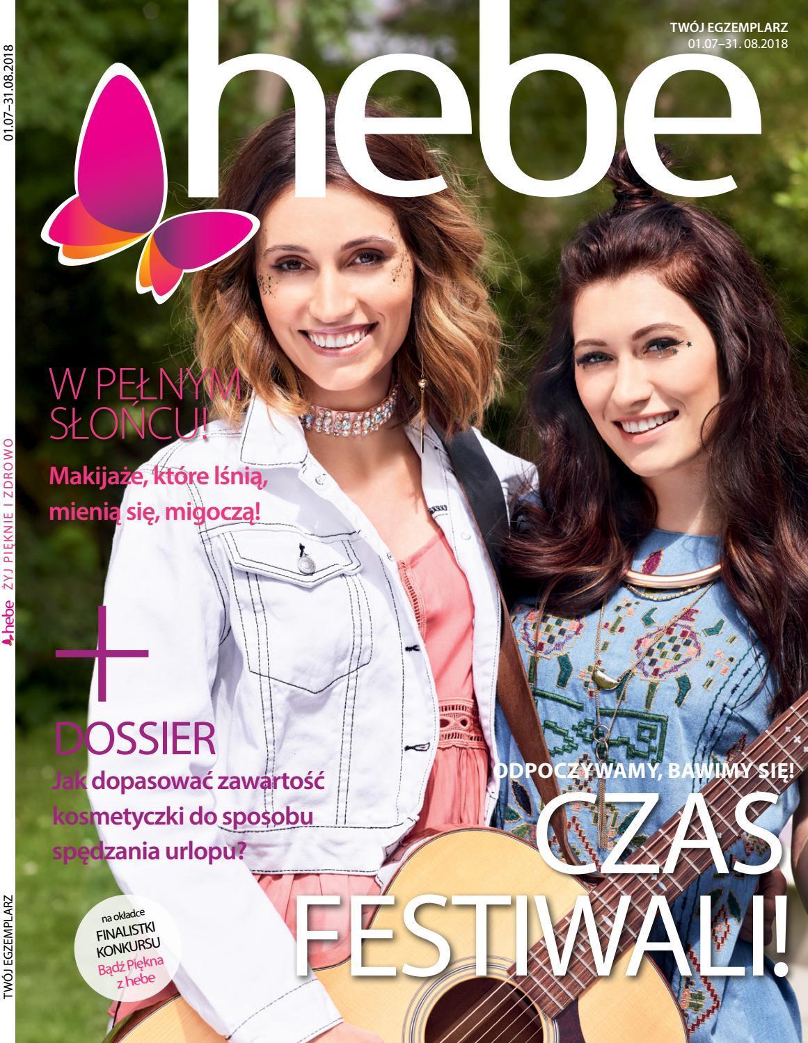 Gazetka promocyjna Hebe do 31/08/2018 str.0