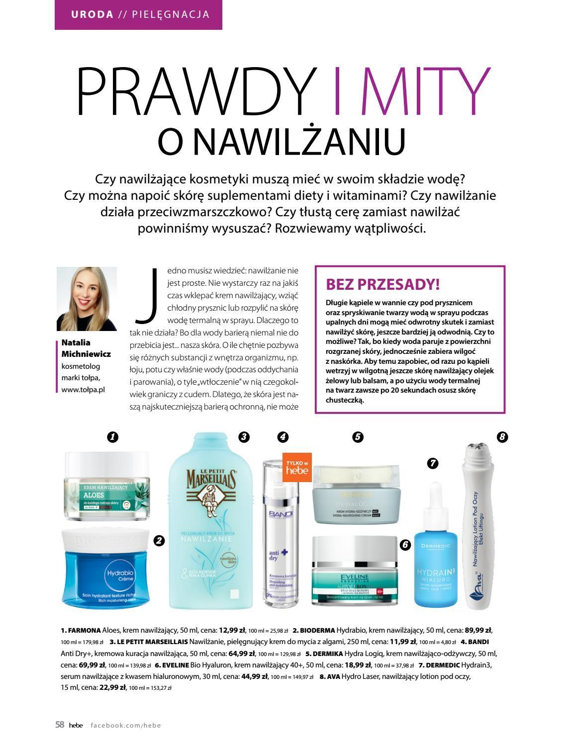 Gazetka promocyjna Hebe do 31/08/2018 str.58