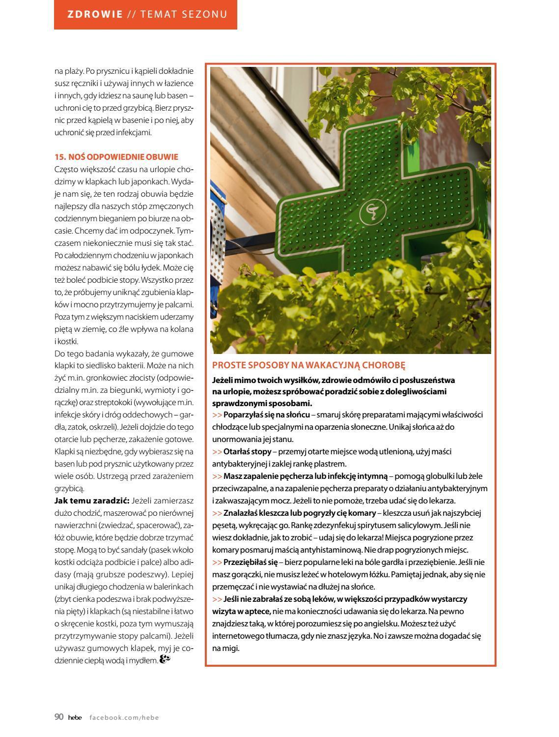 Gazetka promocyjna Hebe do 31/08/2018 str.90