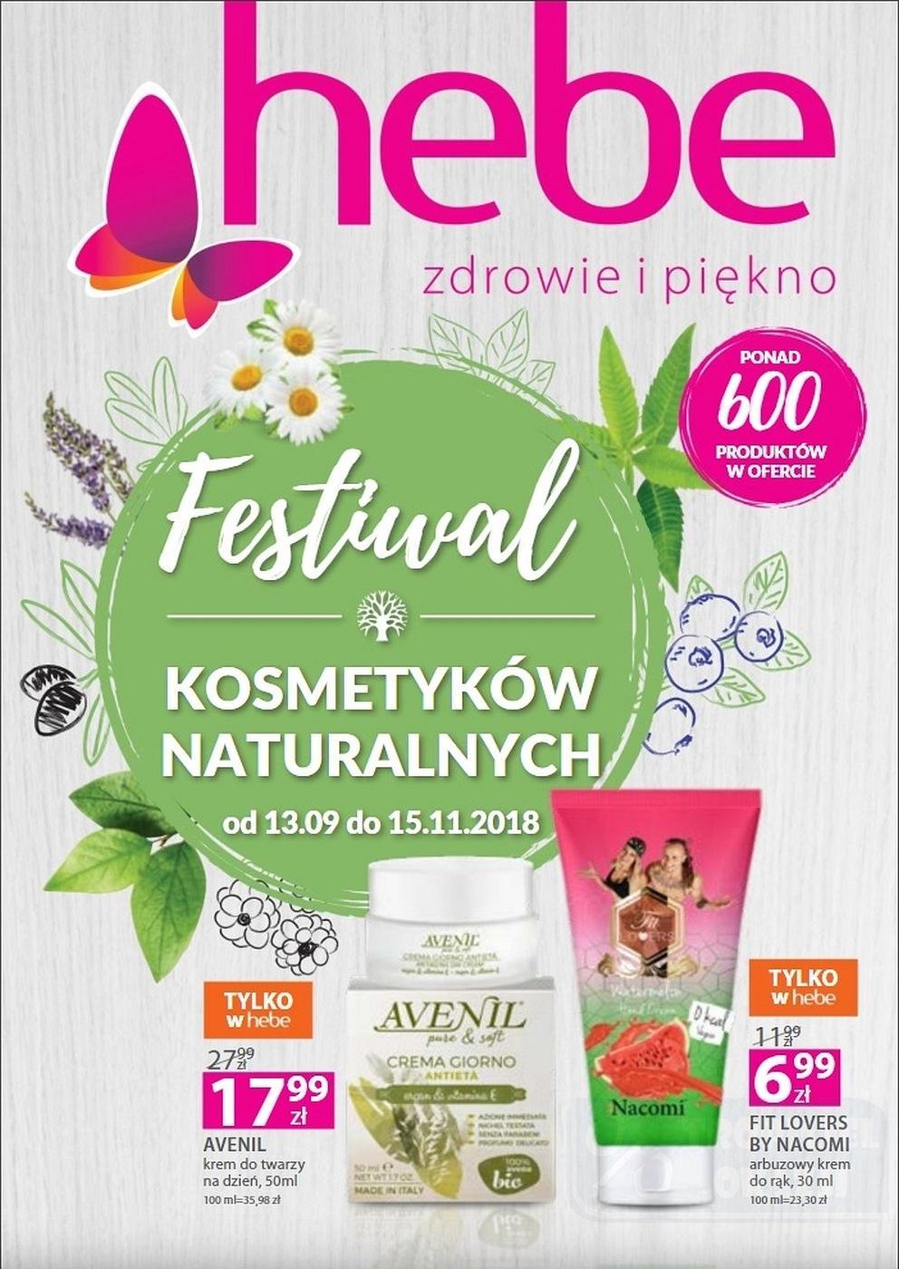 Gazetka promocyjna Hebe do 15/11/2018 str.0