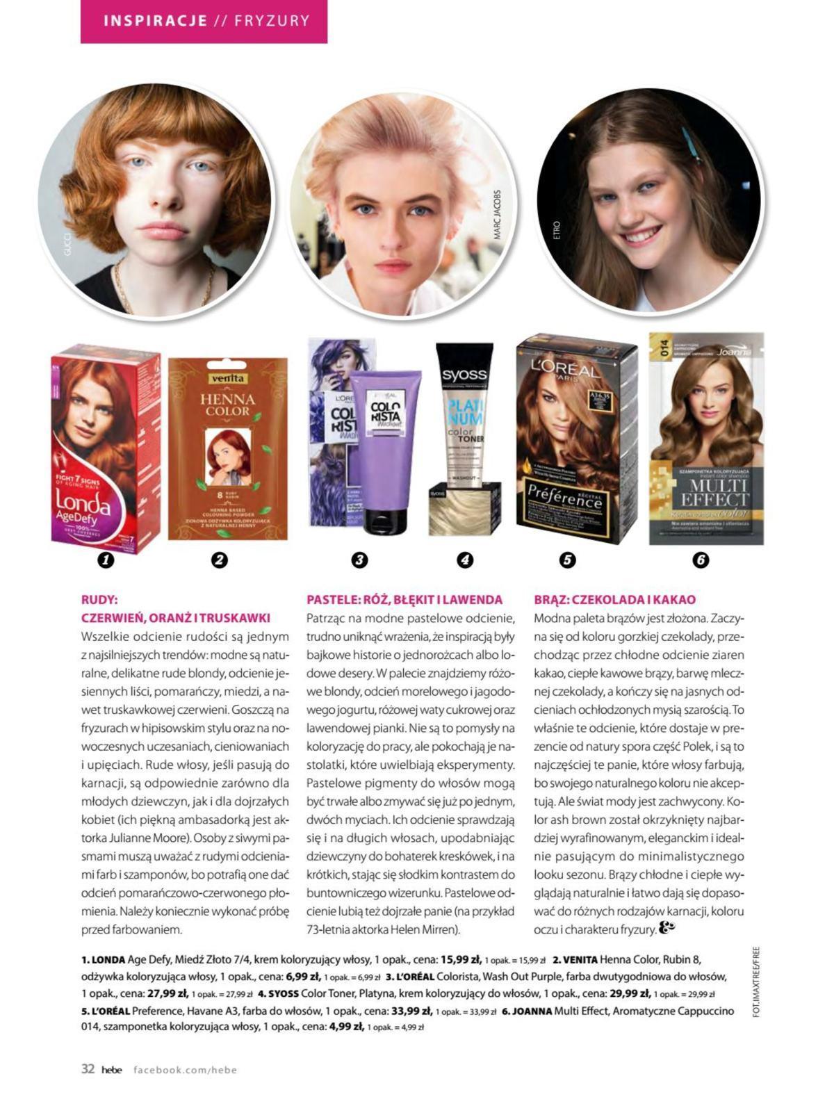 Gazetka promocyjna Hebe do 31/05/2019 str.31