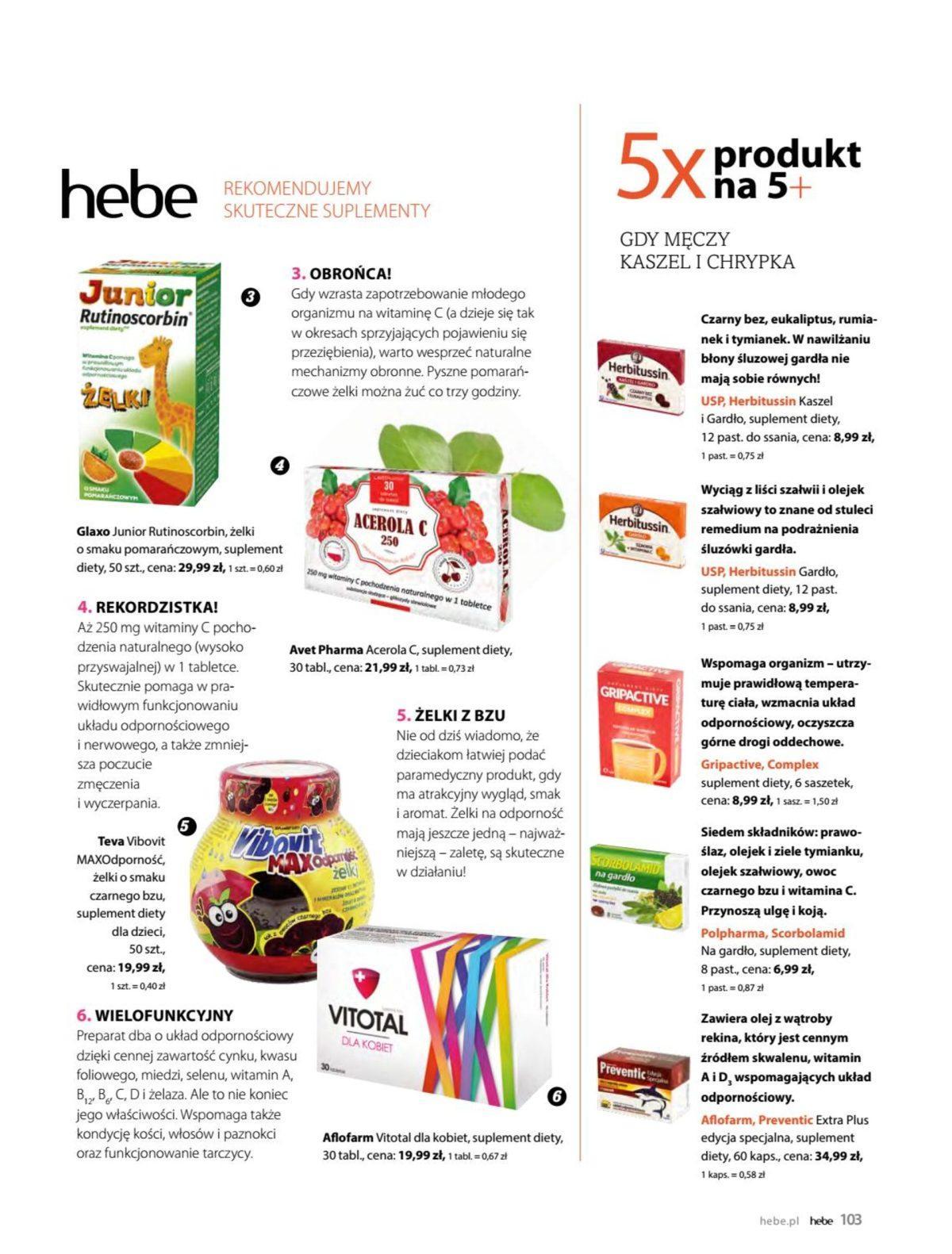 Gazetka promocyjna Hebe do 31/05/2019 str.102