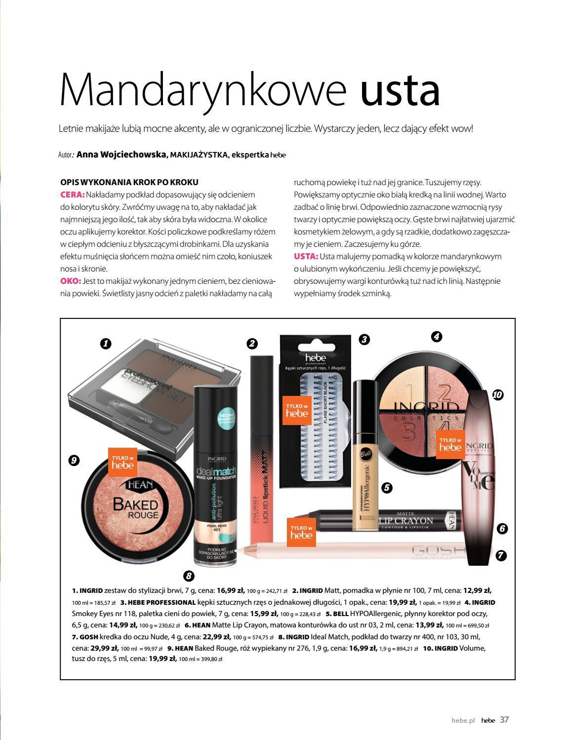 Gazetka promocyjna Hebe do 30/06/2019 str.37