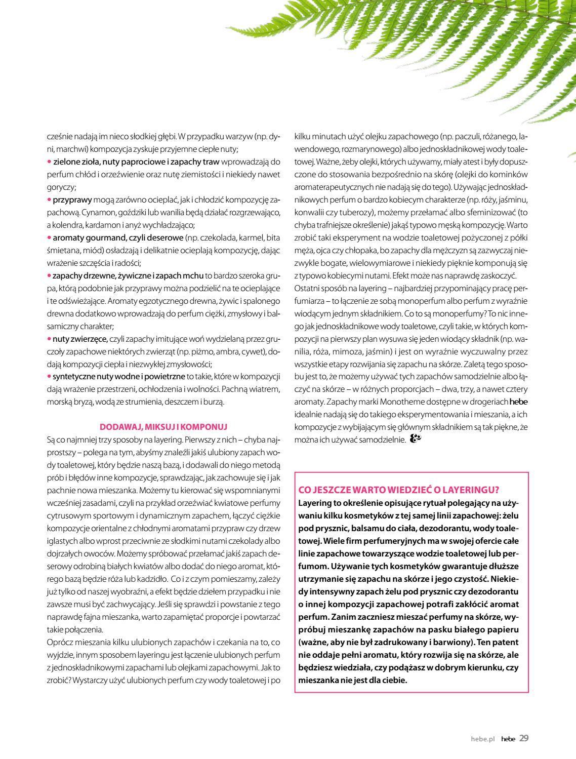 Gazetka promocyjna Hebe do 31/08/2018 str.29