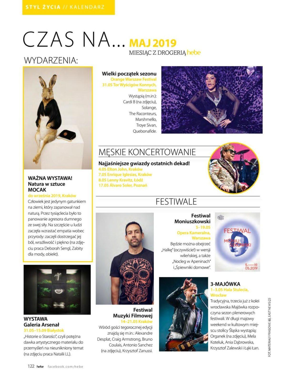 Gazetka promocyjna Hebe do 31/05/2019 str.121