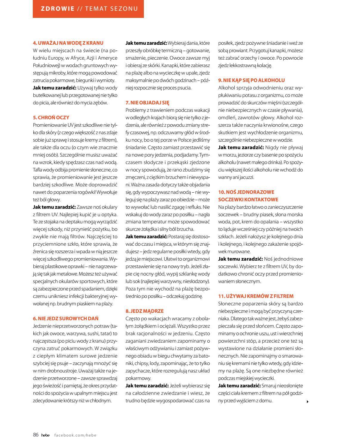 Gazetka promocyjna Hebe do 31/08/2018 str.85