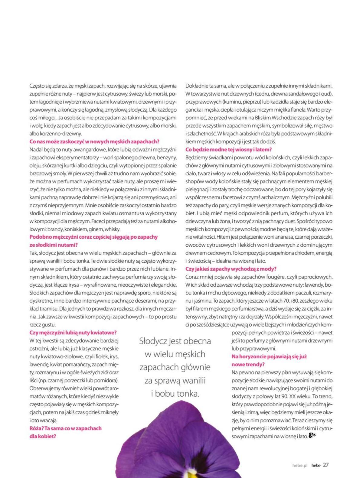 Gazetka promocyjna Hebe do 31/05/2019 str.26