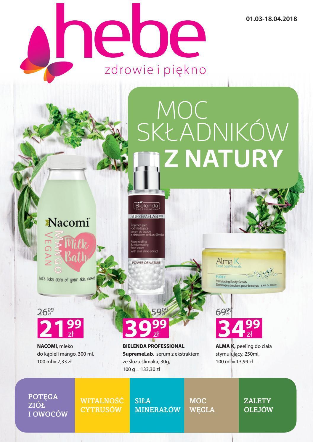 Gazetka promocyjna Hebe do 18/04/2018 str.0