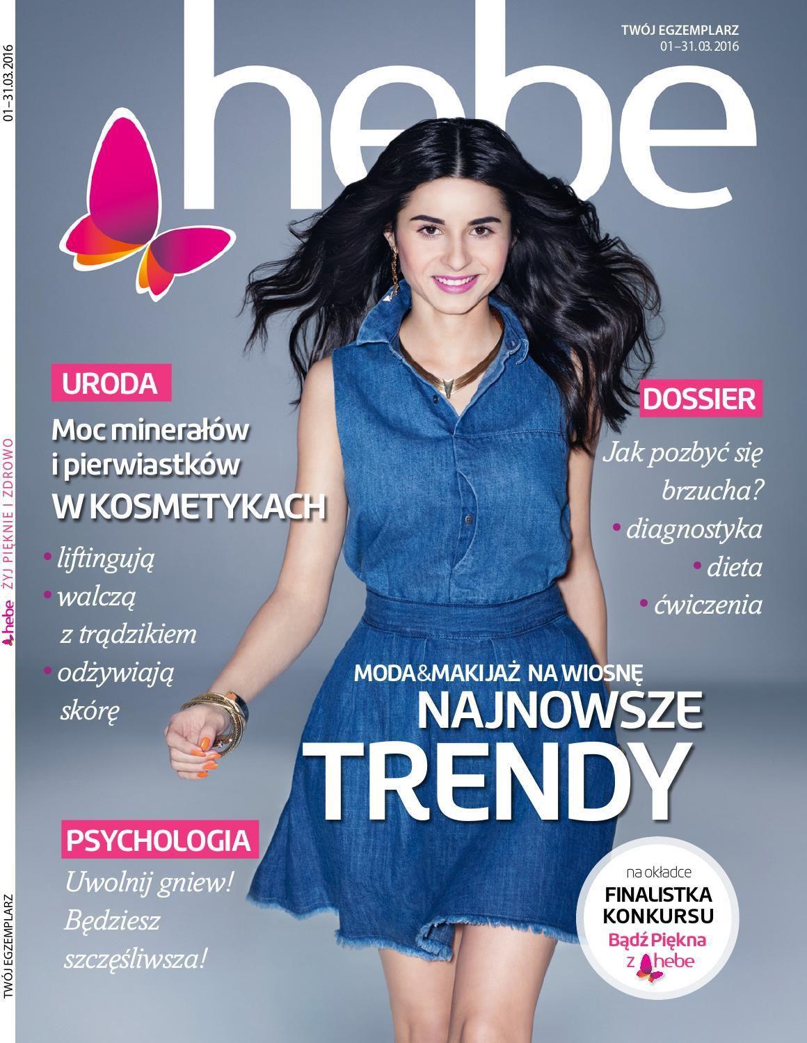 Gazetka promocyjna Hebe do 31/03/2016 str.0