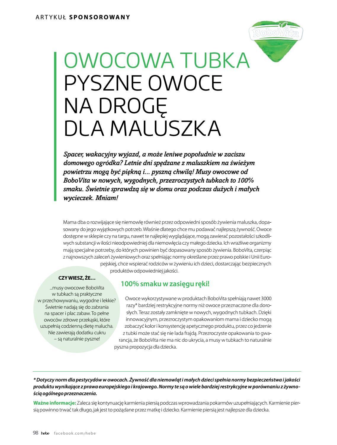 Gazetka promocyjna Hebe do 30/06/2018 str.97