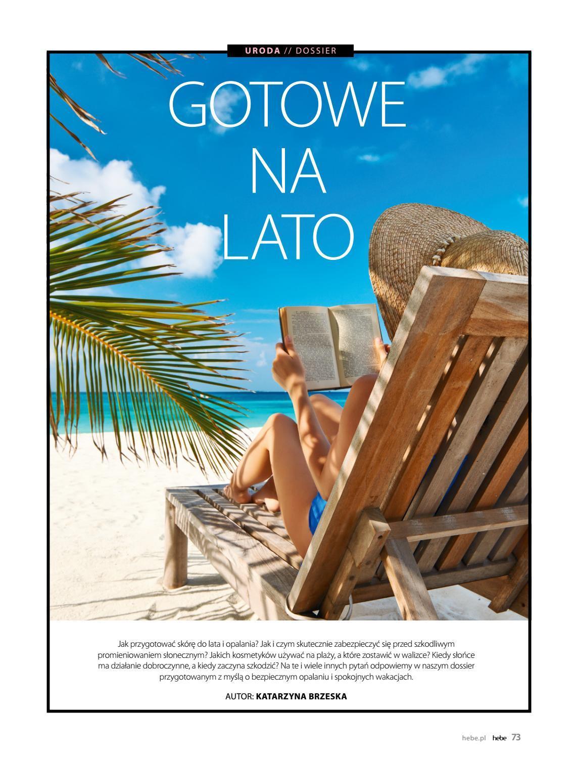 Gazetka promocyjna Hebe do 30/06/2018 str.72