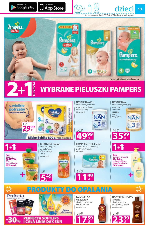 Gazetka promocyjna Hebe do 15/08/2018 str.13