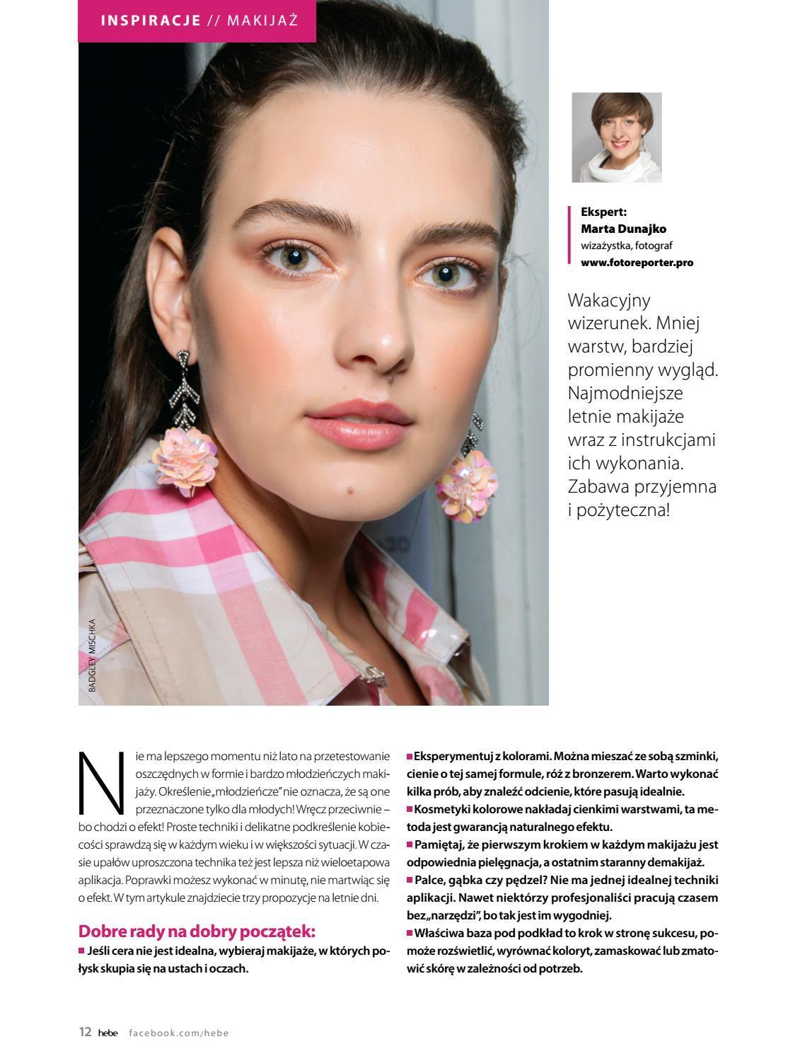 Gazetka promocyjna Hebe do 30/06/2019 str.12